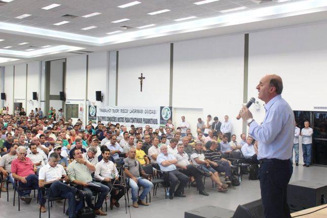 """c5605dbb3 Rizicultores Realizam Movimento pela Sobrevivência da Atividade em Santa  Catarina. """""""